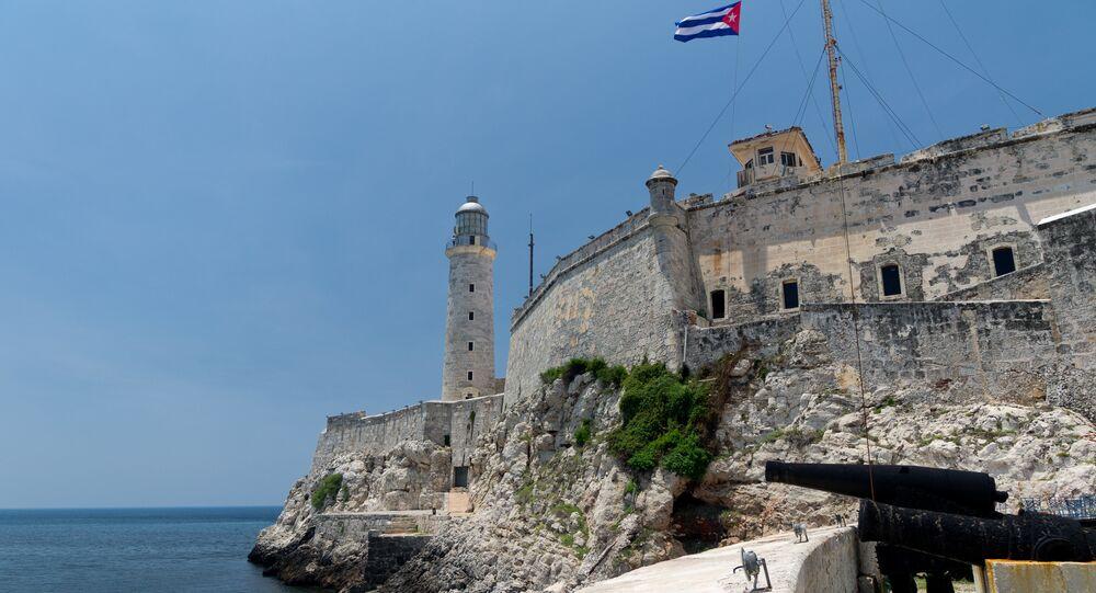 El castillo de los Tres Reyes del Morro, La Habana, Cuba