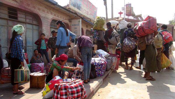Los migrantes de Birmania - Sputnik Mundo