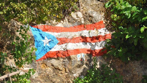 La bandera de Puerto Rico (archivo) - Sputnik Mundo