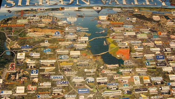 El mapa de Silicon Valley - Sputnik Mundo