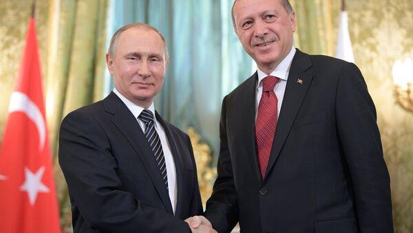 Президент РФ В. Путин принял участие в заседании Совета сотрудничества высшего уровня между РФ и Турцией - Sputnik Mundo