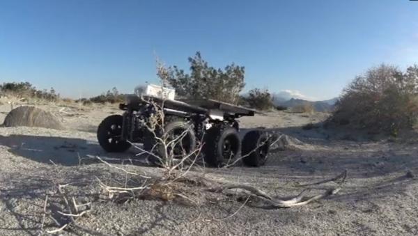 Shybot en el desierto - Sputnik Mundo