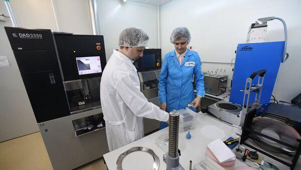 Un laboratorio del Centro Nanotecnológico de Zelenograd - Sputnik Mundo