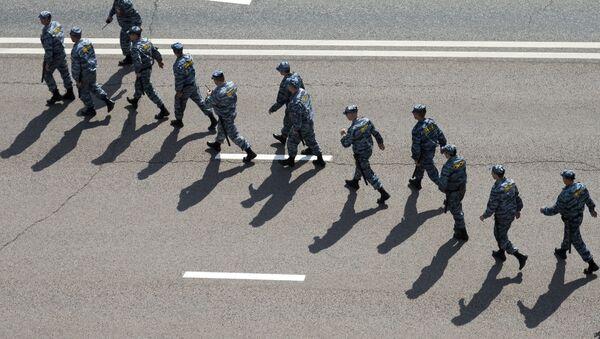 Police in Moscow - Sputnik Mundo