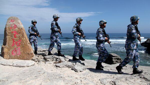 La infantería marina de China (archivo) - Sputnik Mundo