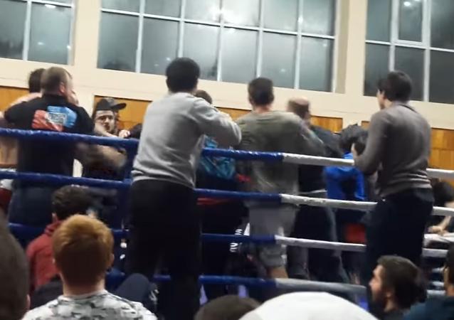 Una pelea en Daguestán