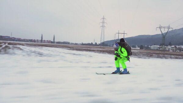 Jetpack Skiing - Sputnik Mundo