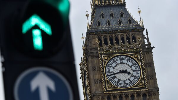 The Big Ben clocktower is seen in London, Britain, 12 March - Sputnik Mundo