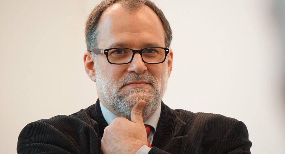Abel Murcia, director del Instituto Cervantes de Moscú