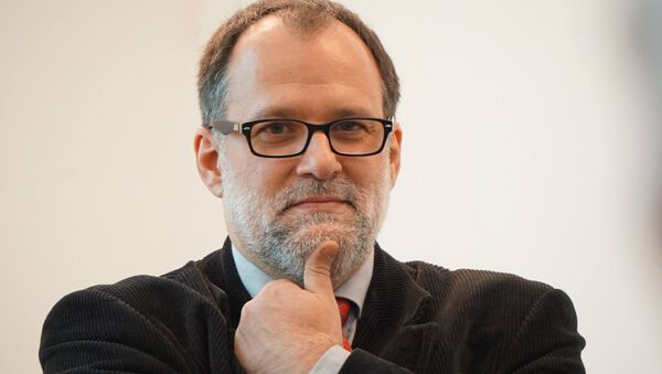 Abel Murcia, director del Instituto Cervantes de Moscú - Sputnik Mundo