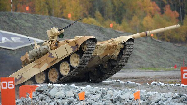 Tanque ruso T-90S - Sputnik Mundo