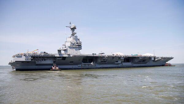 Portaviones estadounidense USS Gerald R. Ford - Sputnik Mundo