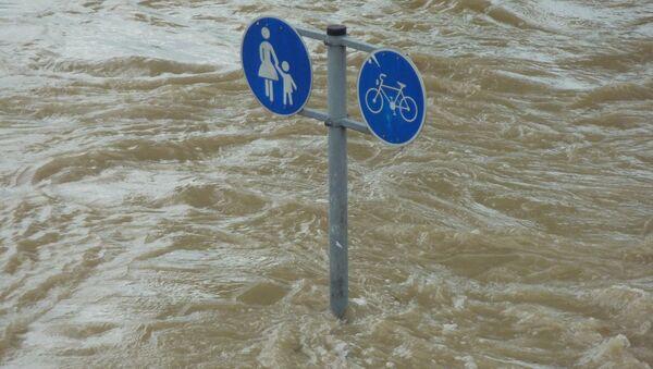 Inundación (imagen referencial) - Sputnik Mundo