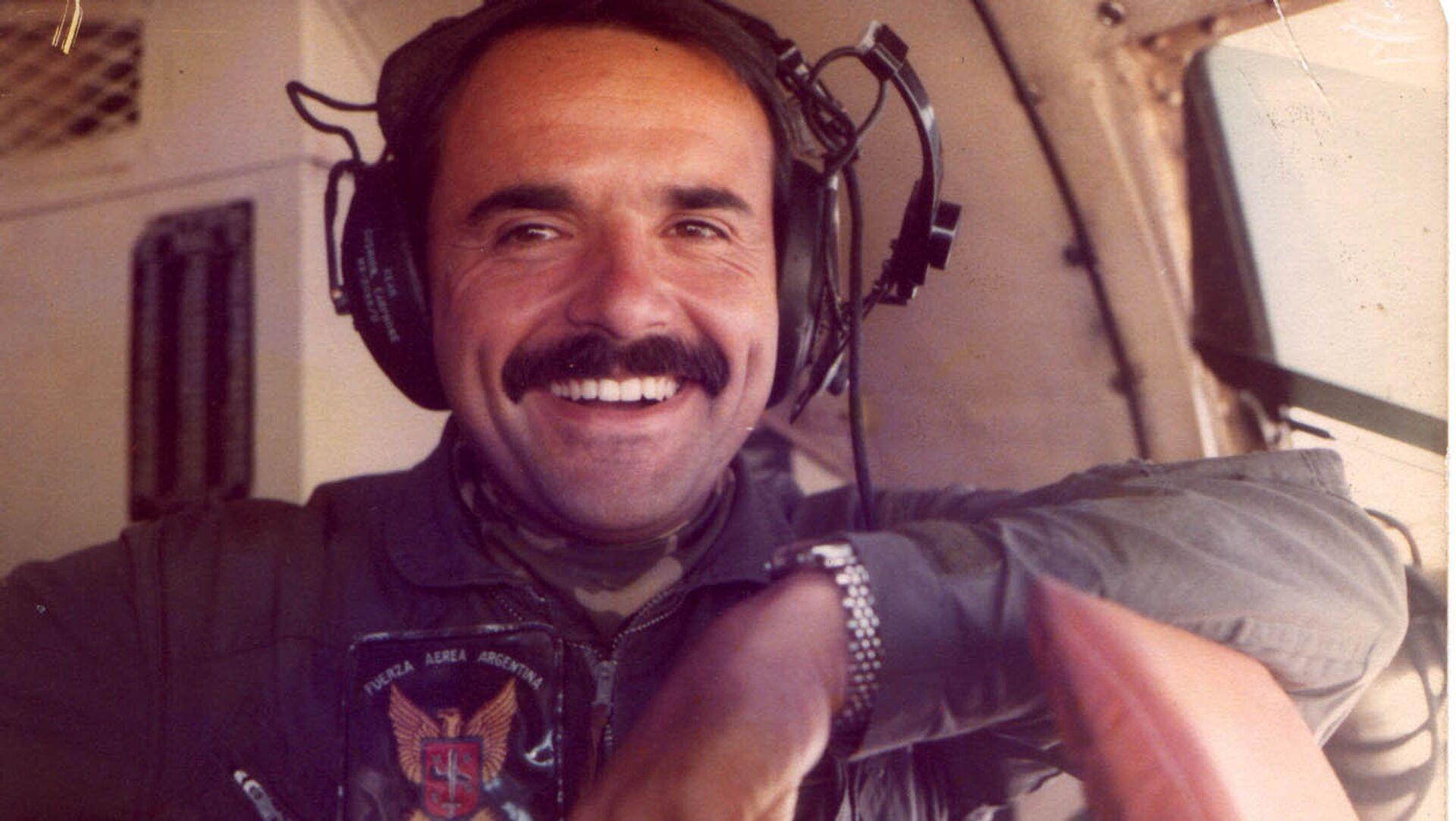 Rubén Martel, piloto argentino caído en la Guerra de Malvinas - Sputnik Mundo, 1920, 15.03.2017