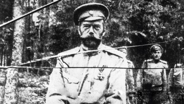 Una de las últimas fotografías de Nicolás II, hecha el verano de 1917 - Sputnik Mundo