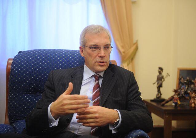 Alexandr Grushkó, viceministro ruso de Exteriores (archivo)