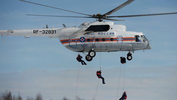 Helicóptero ruso Mi-8MTV - Sputnik Mundo