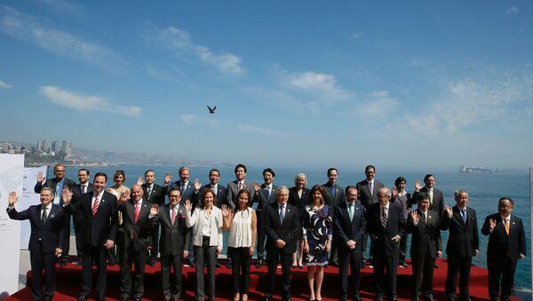 Participantes del cumbre de Alianza del Pacífico - Sputnik Mundo