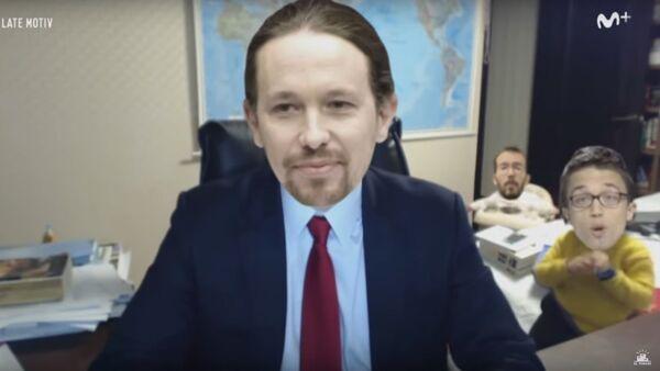 Captura de pantalla de la parodia dedicada a Podemos - Sputnik Mundo