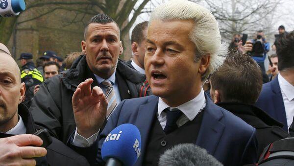 Geert Wilders (archivo) - Sputnik Mundo