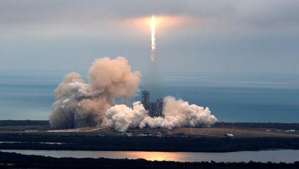 Lanzamiento del cohete (Archivo) - Sputnik Mundo