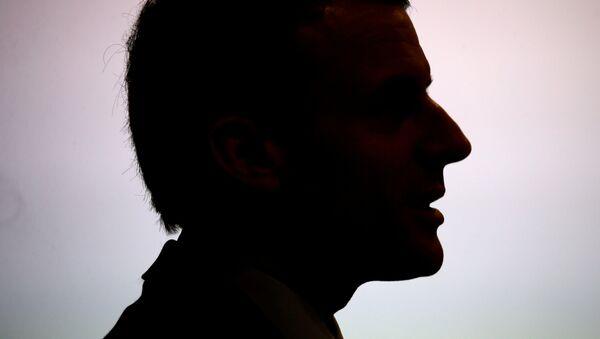 Emmanuel Macron, candidato ganador en las elecciones de Francia - Sputnik Mundo