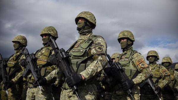 Las Fuerzas de Seguridad de Kosovo (archivo) - Sputnik Mundo