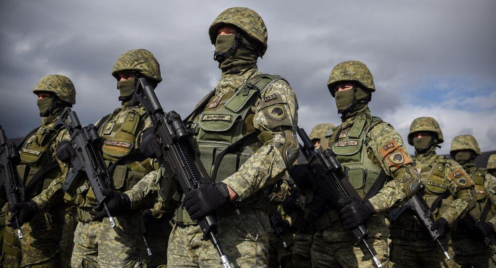 Las Fuerzas de Seguridad de Kosovo (archivo)