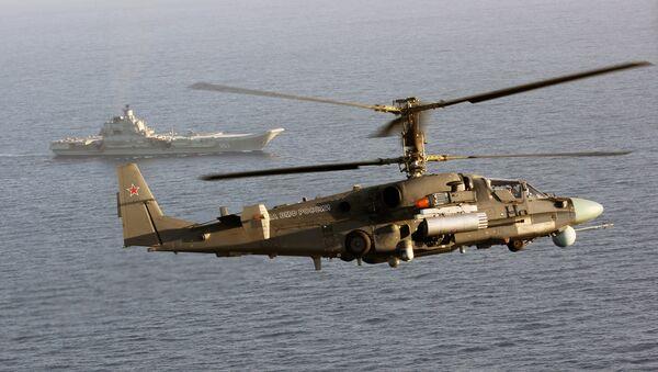 Helicóptero de combate Ka-52K - Sputnik Mundo