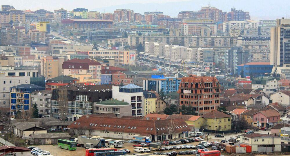Pristina, capital de Kósovo