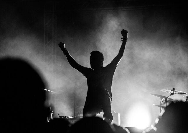 Un concierto de rock