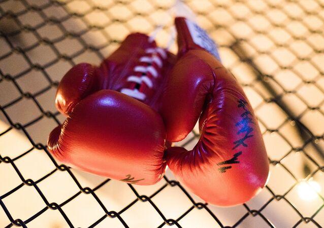 Guantes de boxeo (imagen referencial)