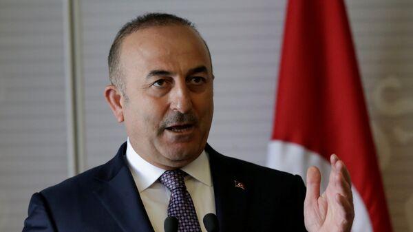 Mevlut Cavusoglu, ministro de Exteriores turco - Sputnik Mundo