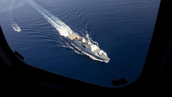 The French Naval Force frigate La Fayette - Sputnik Mundo