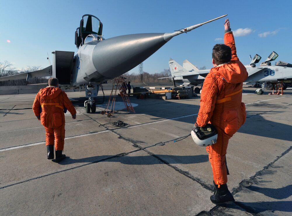 Los ejercicios aéreos tácticos conjuntos en la región de Primorie.
