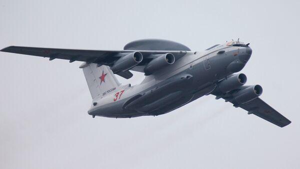 Un avión ruso de alerta temprana (archivo) - Sputnik Mundo