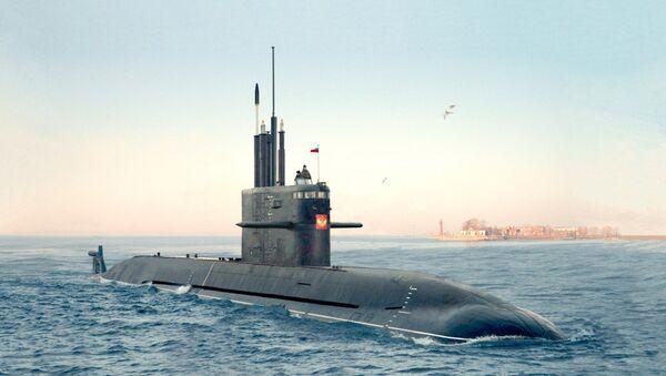 Un submarino de clase Amur 1650 - Sputnik Mundo