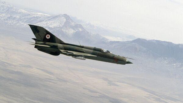 Афганские истребители советского производства МиГ-21 - Sputnik Mundo