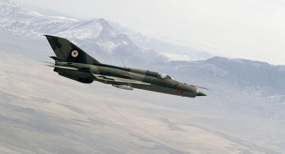 MiG-21 de la Fuerza Aérea afgana, 1988