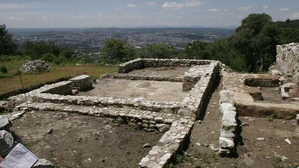 Las ruinas de Tepeticpac, uno de los barrios en Tlaxcallan - Sputnik Mundo