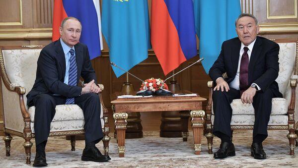 Рабочий визит президента РФ В. Путина в Казахстан - Sputnik Mundo