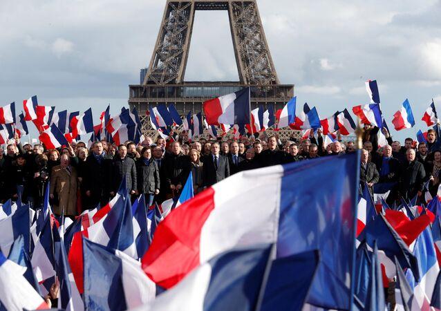 Las banderas de Francia