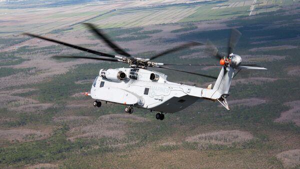 Helicóptero estadounidense CH-53K - Sputnik Mundo