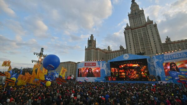 El festival estudiantil Vesná - Sputnik Mundo