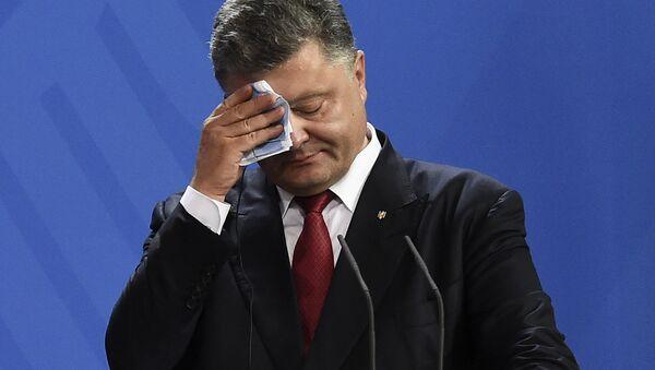El presidente ucraniano, Petró Poroshenko - Sputnik Mundo
