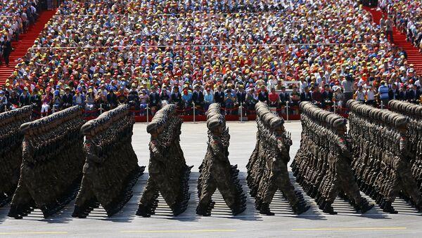 Militares chinos (archivo) - Sputnik Mundo