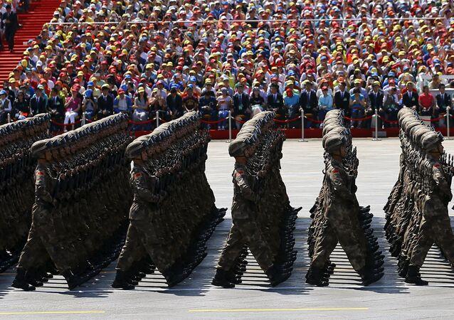 Desfile militar en China