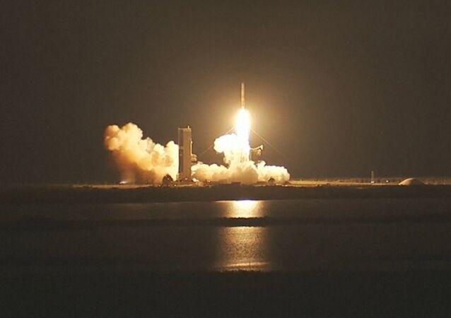 Un cohete de EEUU coloca en órbita satélite de comunicaciones