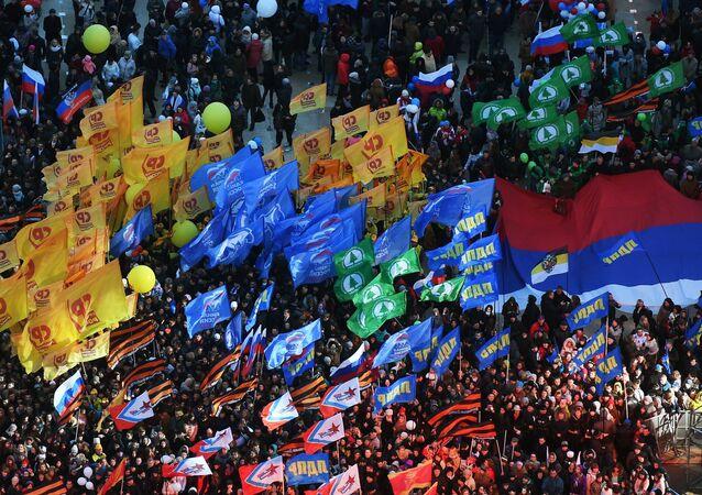 El Festival Vesná en Moscú