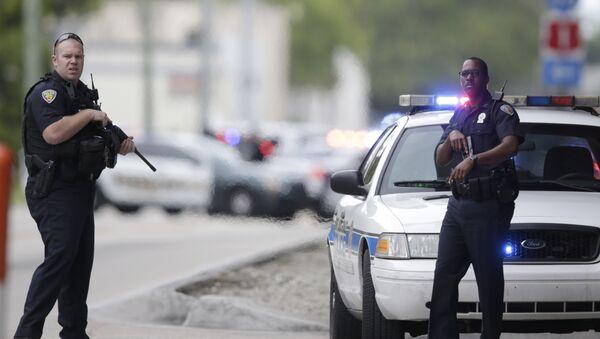 US Police officers. (File) - Sputnik Mundo
